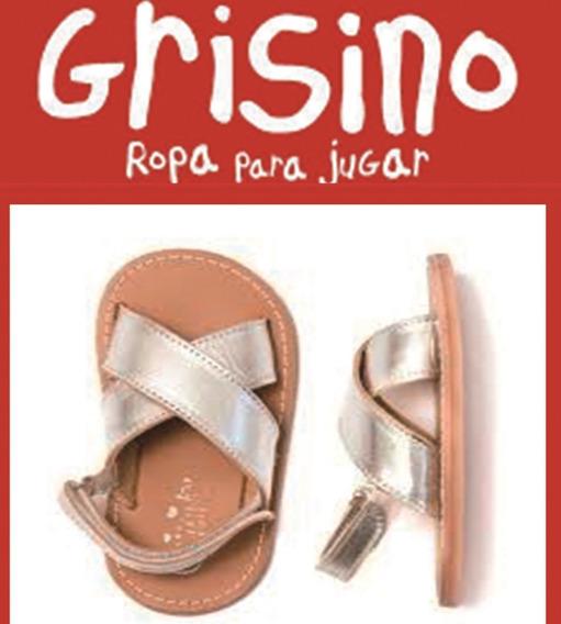 Sandalias Niña Grisino