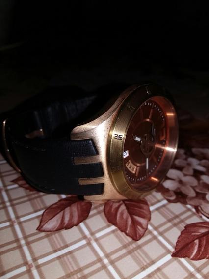 Relógio Swatch Ytg 400 Dourado