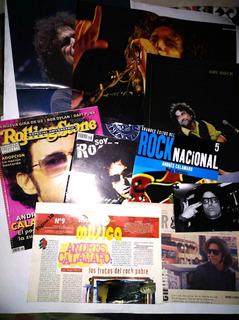 Andres Calamaro Lote Revistas Posters Y Foto
