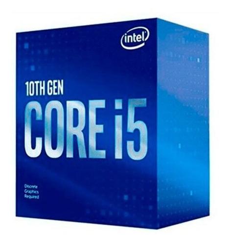 Imagen 1 de 5 de Procesador Intel Core I5-10400 Cometlake 10ma Gen 6 Nucleos