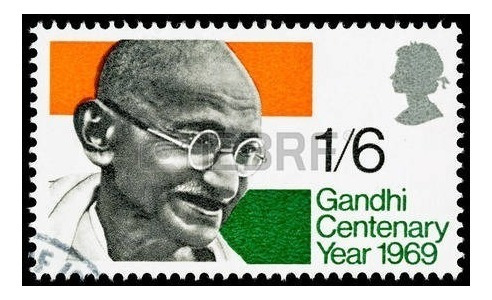 Postale Gandhi Clo Zignauko
