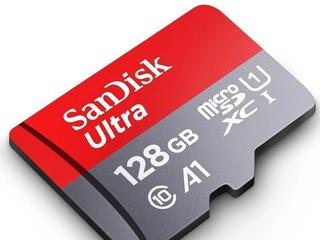 Cartão Memória Micro Sd Sdsx Sandisk Ultra 128 Gb Classe 10