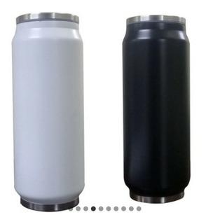 Vaso Termico 500ml Frio/ Calor Pack X 2 Botella Lata