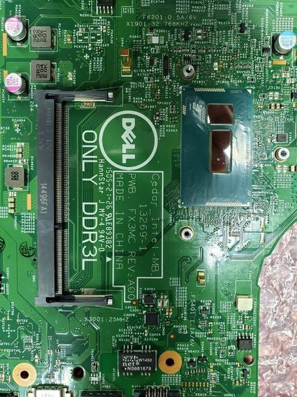 Placa Mãe Dell Inspiron 14 3442 Defeito Pwb. Fx3mc Rev|:aoo