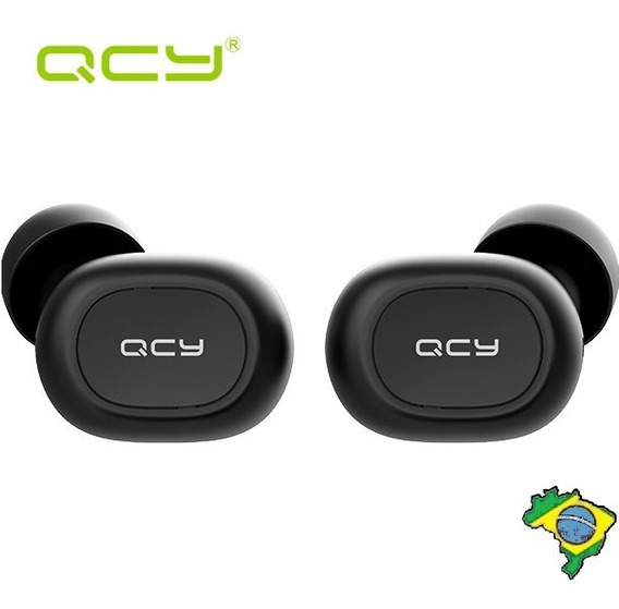 Fone De Ouvido Qcy Qs1 T1c Bluetooth5.0 S/fio Pronta Entrega