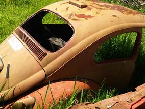 Volkswagen Carcaça Fusca Anos 1958 A 1966 Traseirao Teto