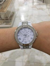 Relógio Guess Feminino Branco Original W13564l1