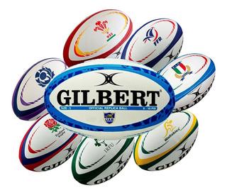 Pelota Rugby Nº 5 Gilbert Oficial Naciones, Loc No.1 Arg
