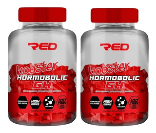 2 X Potes De Novo Hormobolic Gh Original = 60 + 60 Tabletes