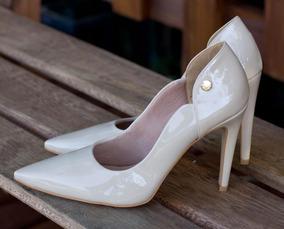 dd95459b3e Sapato Palha Osklen Feminino Scarpins Outras Marcas - Sapatos para ...