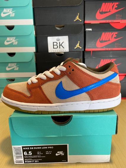 Zapatillas Nike Sb Dunk Low Corduroy Dusty Peach