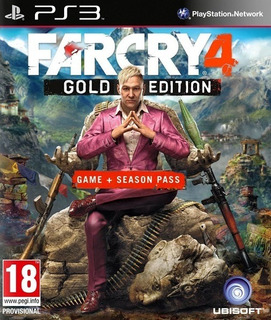Far Cry 4 Gold Edition + Season Pass Ps3