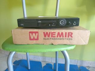 Reproductor Dvd Wemir Dvd-026 Casi Sin Uso
