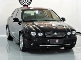 Jaguar X-type 2008/2009 2.5 4x4 Baixa Km - Impecável - Preto