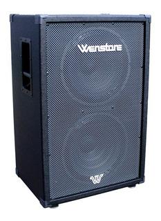 Wenstone B-215 Caja Bafle Para Bajo 2x15 400w Rms