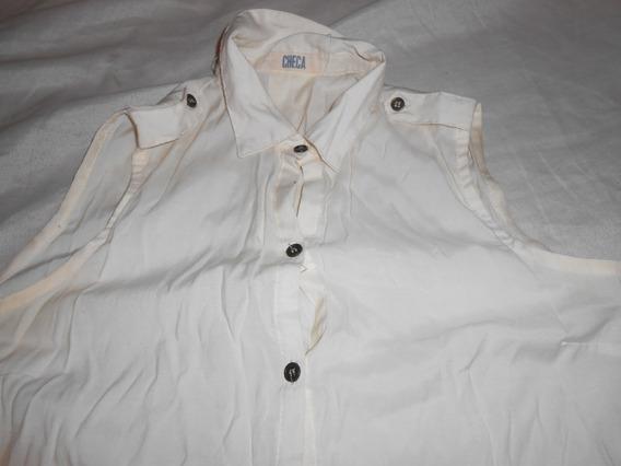 Camisa Chaleco Checa Excelente !!