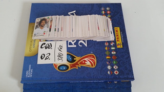 Kit 3 Álbum Copa 2018 + 380 Figurinhas