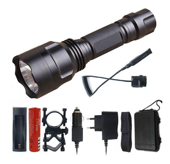Litwod Z10c8 High Power Tático Lanterna Led Xm-l2 T6 U3 Aut