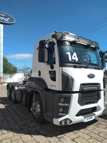 Ford Cargo 2842 6x2 Ano 2014 Unico Dono
