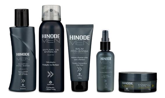 Kit Hinode Men Cabelo E Barba - Masculino - 5 Produtos