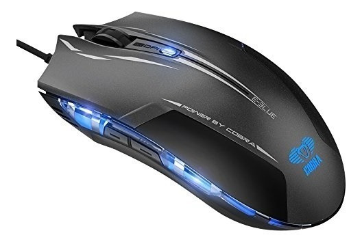 Mouse Gamer Horsky E- Blue Cobra Usb Optical 100% Original