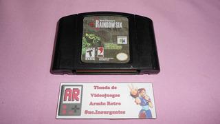 Tom Clancys Rainbow Six N64 Nintendo 64 **etiqueta Custom**