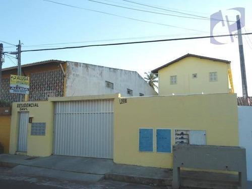 Apartamento Com 2 Dormitórios Para Alugar, 55 M² Por R$ 640,00/mês - Cidade Dos Funcionários - Fortaleza/ce - Ap0793