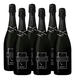 Champagne Chandon Brut Nature Caja X 6