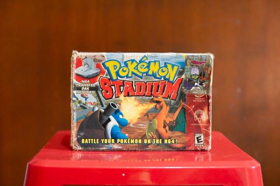 Cartucho Pokemon Stadium Nintendo 64 Original Na Caixa