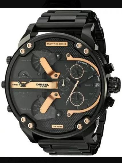 Relógio Diesel / Dz 7333-4pn Black + Frete Grátis