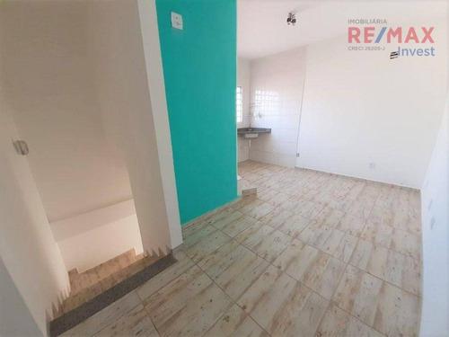 Imagem 1 de 6 de Kitnet Com 1 Dormitório Para Alugar, 30 M² Por R$ 650,00/mês - Vila Pinheiro Machado - Botucatu/sp - Kn0060
