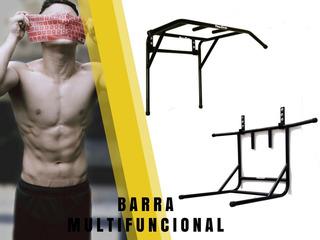 Barra Multifuncional 2 En 1 Gratis Pernos Y Tarugos