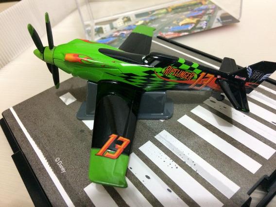 Aviões Ripslinger Metal Disney Escala 1:43 Acrílico Quebrado