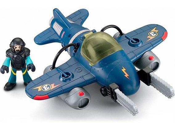 Avião Sky Racer Tornado Jet Imaginext Fisher Price - Mattel