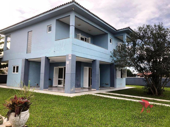 Sobrado Com 6 Dormitórios À Venda, 244 M² Por R$ 540.000,00 - Praia Paraíso - Torres/rs - So0159