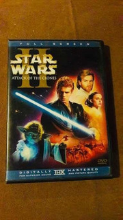 Dvd Star Wars Attack Of The Clones Full Screen
