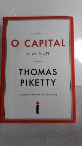 O Capital No Século Xxi De Thomas Piketty - Livro Usado