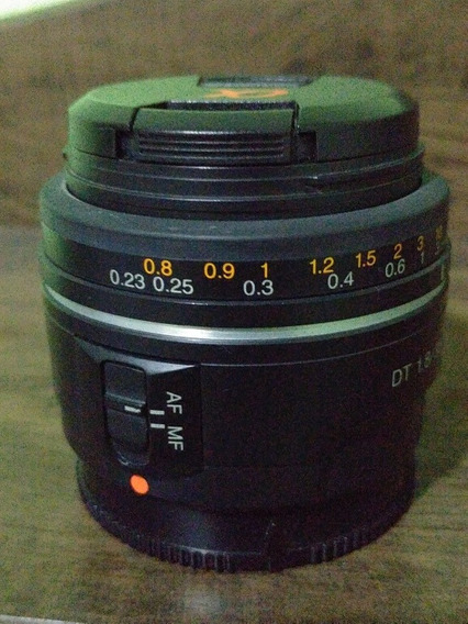Lente Sony Dt 35mm 1.8 A-mount