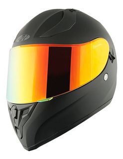 Casco Joe Rocket Rkt 14 Negro Iridio / 2 Micas