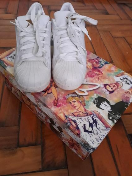 Zapatillas Blancas De Mujer
