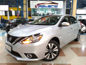 Nissan Sentra Sv 2.0 Flex Automático Cvt 2017 Completo