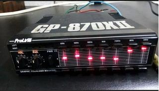 Ecualizador Grafico Booster Proline Gp-870xii