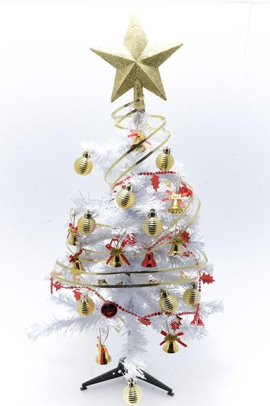 Arbol De Navidad 60 Cm Completo Con Luces Decoracion