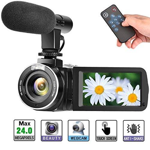 Cámara De Vídeo Digital Videocámara 30fps 1080p Full Hd