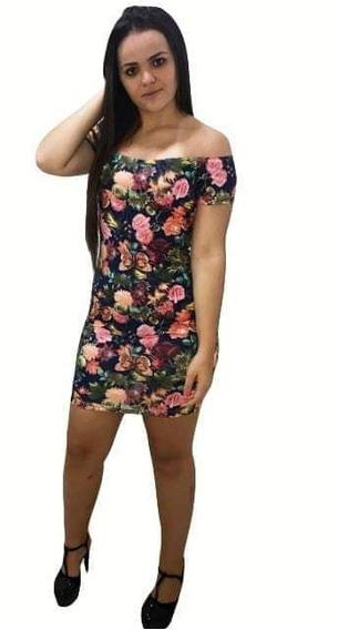 Vestido Curto Estampado Modelo Primavera 2019
