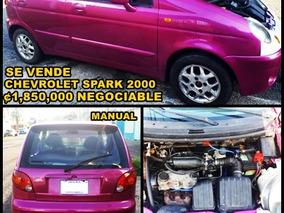 Chevrolet Spark 2000 Manual (negociable)
