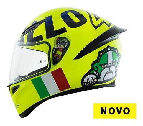 Capacete Agv K1 Mugiallo Valentino Rossi Cachorro Amarelo 46 Mercado Livre