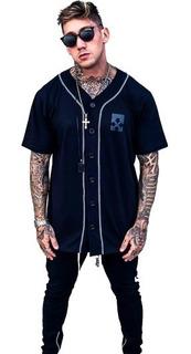 Camiseta Baseball Preta