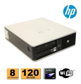 Cpu Hp Compaq Dc5850 Amd Phenon X4 8gb Ssd 120gb Wifi