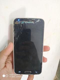 Samsung S5 Full Display Queimado